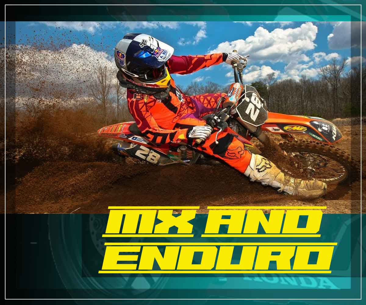 MX and Enduro Motorbikes