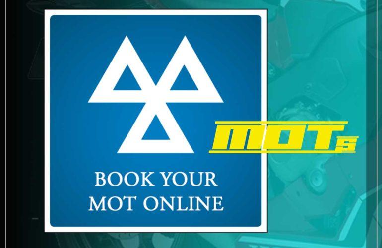 Motorbike MOT booking