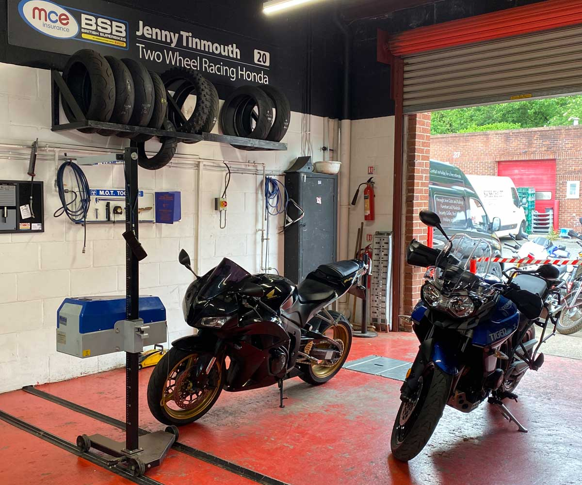 Motorbike MOT Station Image 1