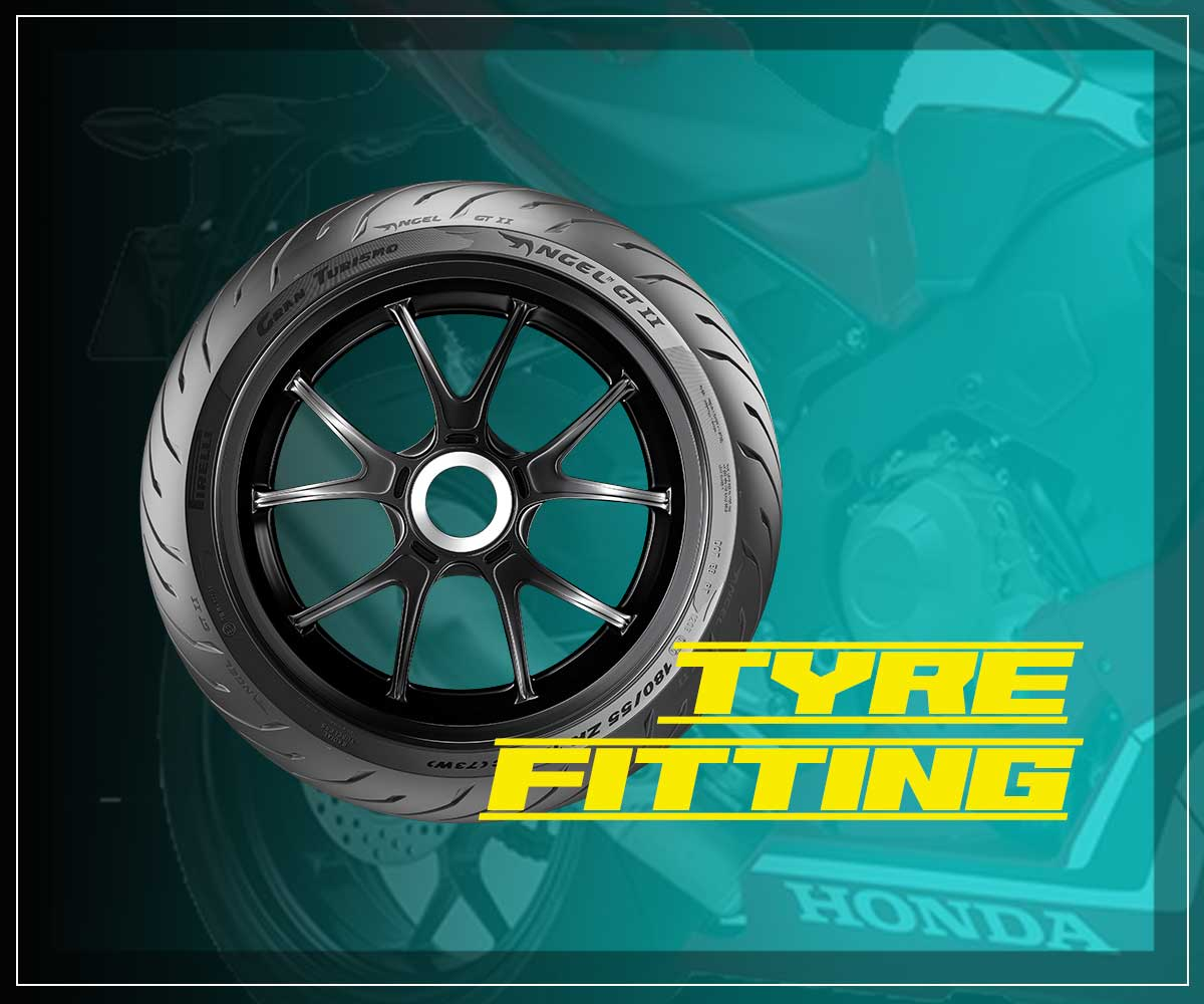 Motorcycle Tyre Fitting